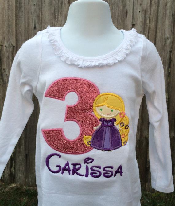 Rapunzel Inspired Shirt