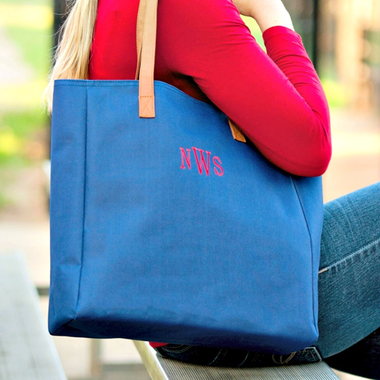 Game Day Tote - Free Monogram - Monogrammed Purse - Monogrammed Handbag - Personalized Handbag -Gift -Monogrammed Bag - Game Day