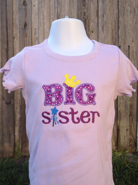 Big Sister Shirt Big Sister Little Sister Sibling Shirt
