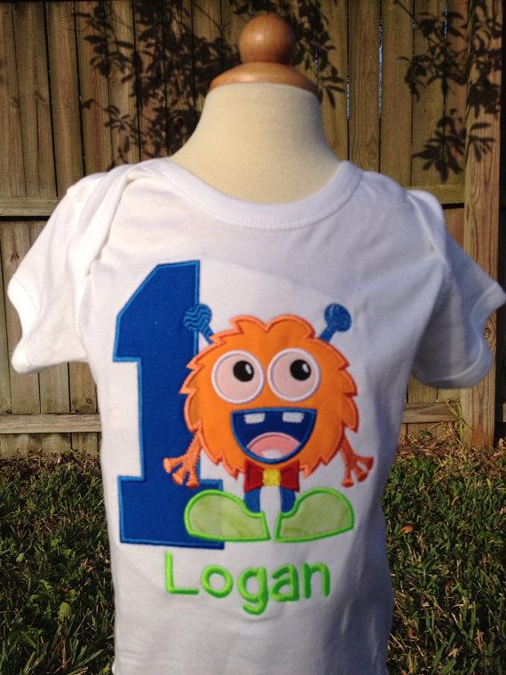 Monster Themed Birthday Shirt