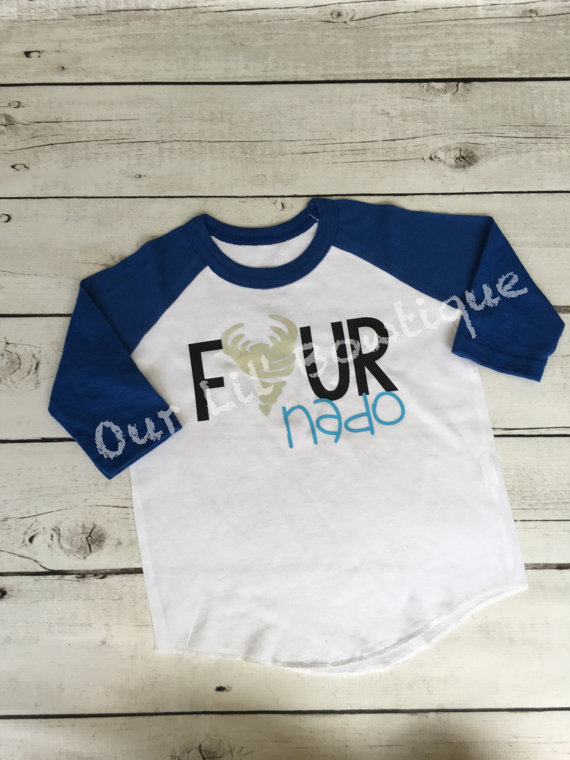 Four Nado Birthday Shirt Personalized