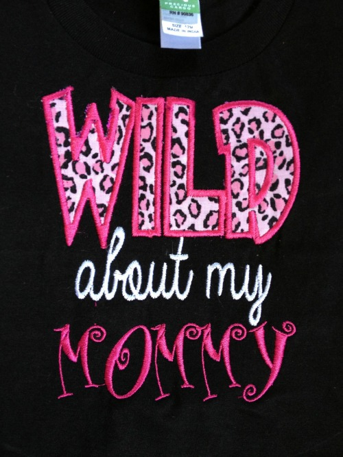 Wild About Nana - Wild About Mom Shirt