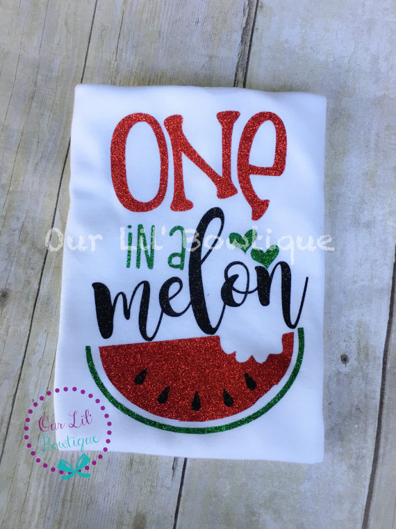 aaaaa7fb8 One in a Melon - First Birthday Outfit - One - 1st Birthday Outfit - Watermelon  Birthday Shirt - Glitter - Tutu - One Birthday Outfit - Fruit Birthday ...