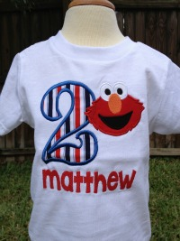 Elmo Birthday Shirt - Boy