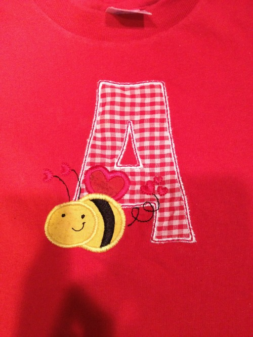 Personalized Bee Shirt