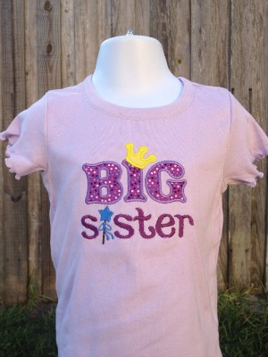 Big Sister Shirt - Baby Announcement Shirt - Sibling Shirts