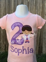 Doc McStuffins Birthday Shirt - Doc McStuffins -  Doc Birthday - Personalized Doc McStuffins