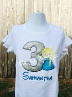 Elsa Birthday Shirt - Frozen Birthday Shirt - Elsa Birthday