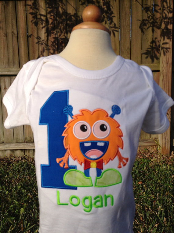 Monster Themed Birthday Shirt