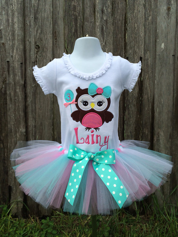 Owl Birthday Shirt - Owl Balloon Birthday Shirt - Personalized Owl Shirt