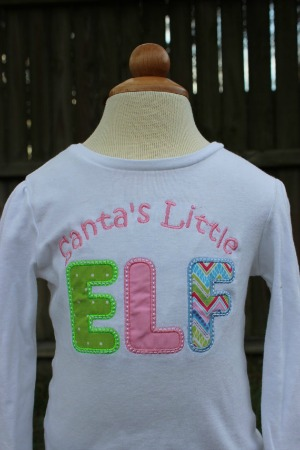 Santa's Little Elf Shirt - Little Elf - Christmas Shirt