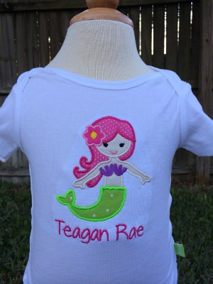 Mermaid Shirt - Mermaid Birthday - Personalized Mermaid Shirt