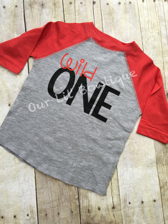 Wild One Birthday Shirt- Personalized Birthday - Personalized - Birthday Shirt - Birthday - 1st Birthday - Wild One first birthday shirt