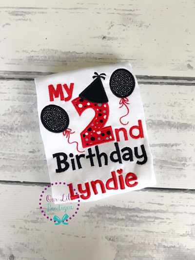 Personalized 3rd Birthday Shirt - Personalized 2nd Birthday Shirt