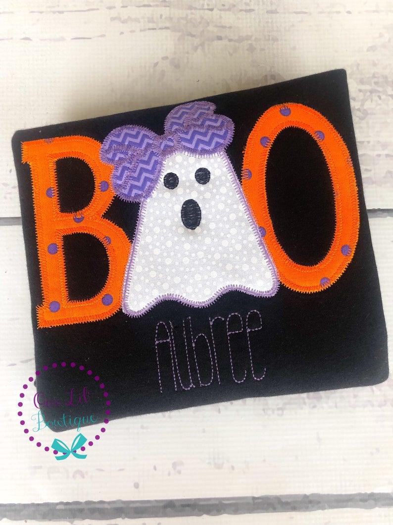 BOO Halloween Ghost Shirt