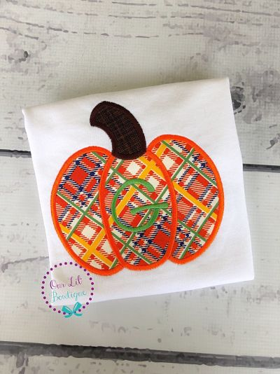 Plaid Pumpkin Shirt