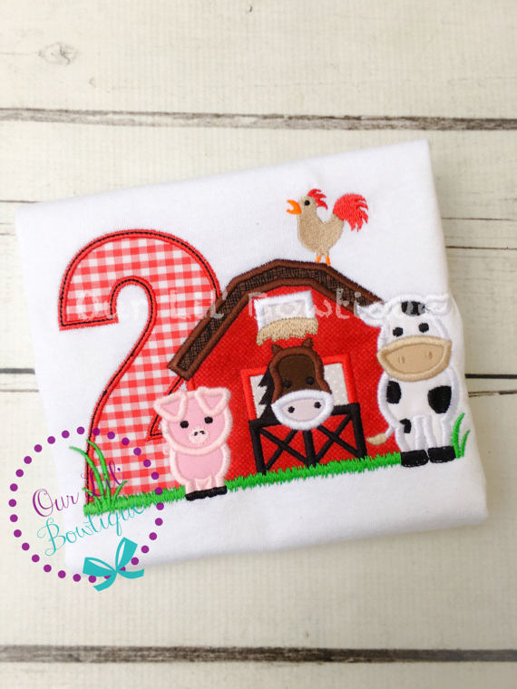 Farm Birthday Shirt - Personalized Birthday Shirt - Cow Print