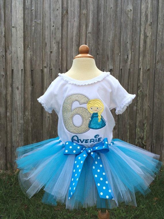 Elsa Birthday Shirt - Frozen Birthday Shirt - Elsa Birthday