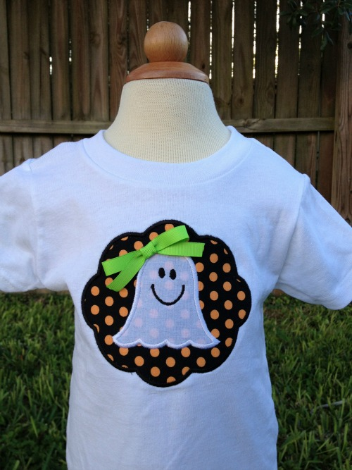 Girl Ghost Halloween Shirt or Tanktop