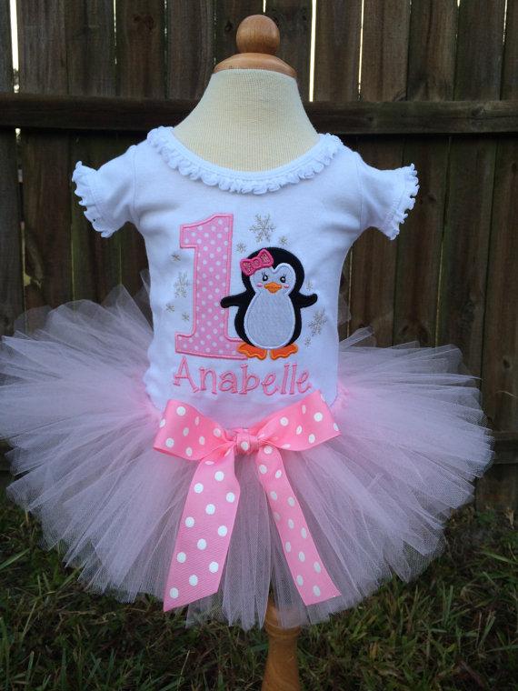 One-Derland Birthday Shirt - Winter One-derland - One Birthday - Winter Wonderland - 1st Birthday - Penguins