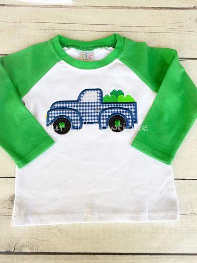 Personalized Shamrock Truck Shirt