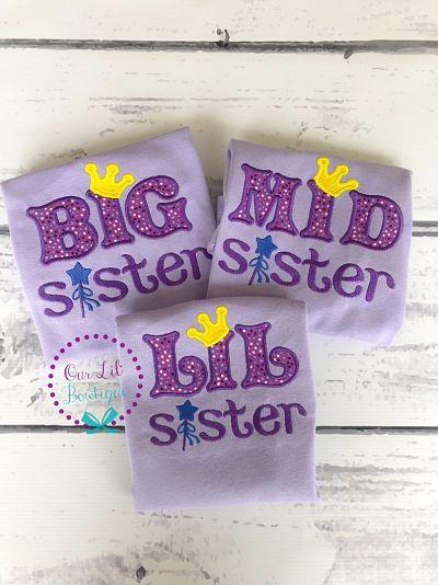 Big Sister - Little Sister Princess Shirt