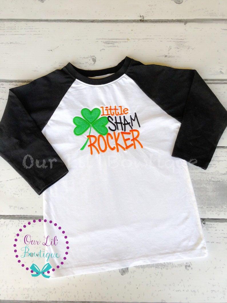 St Patricks Day Shirt - Little Sham Rocker