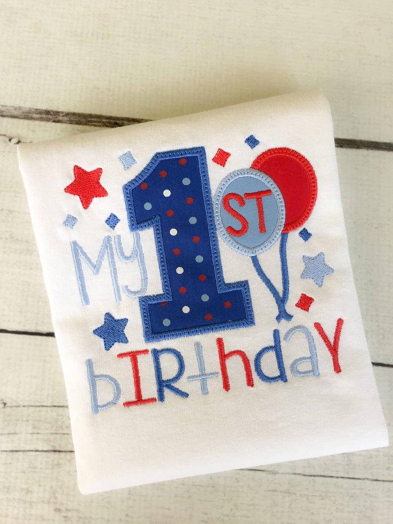 Balloon Personalized Birthday Shirt