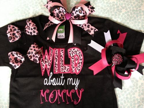 Wild About Nana - Wild About Mom Shirt
