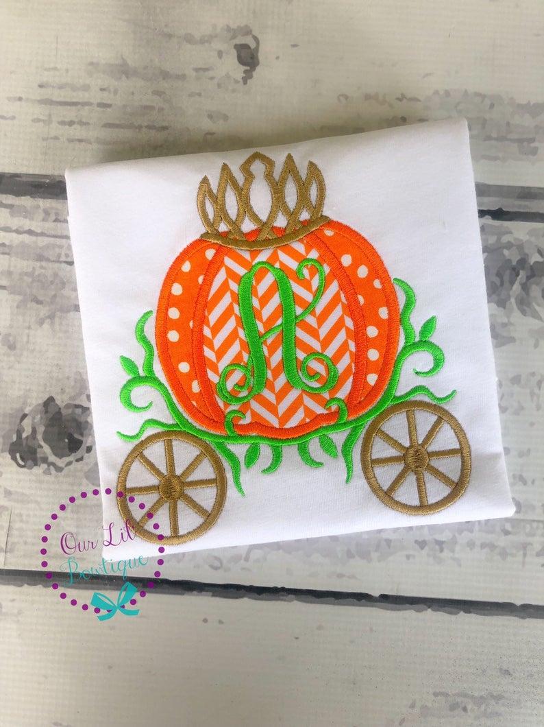 Pumpkin Carriage Shirt