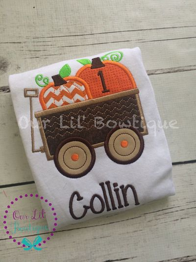 Pumpkin Wagon Shirt