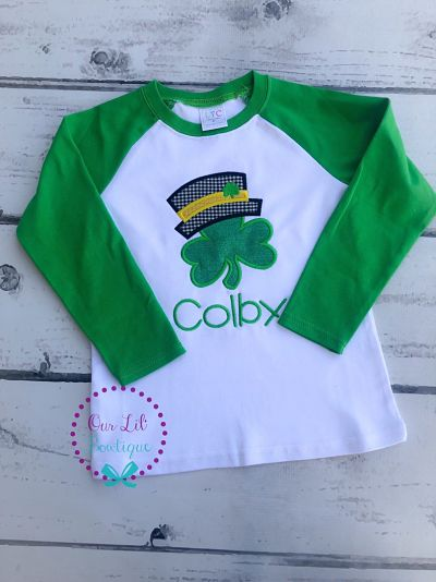 Personalized Shamrock Shirt