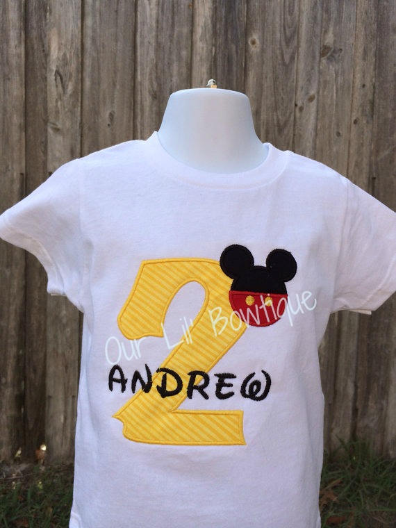 Oh Two-dles Birthday Shirt - Mickey Birthday Shirt - Mickey Mouse Clubhouse Birthday