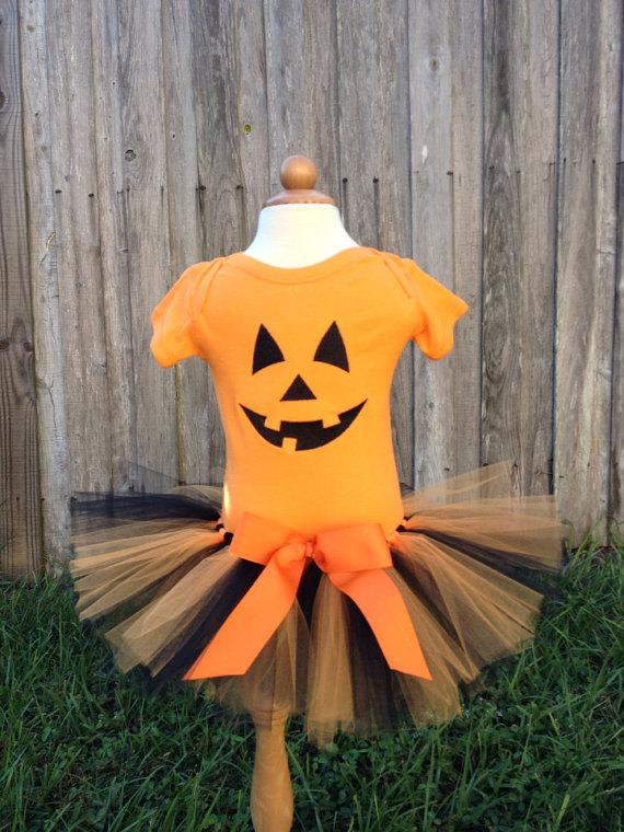 Pumpkin Halloween Costume - Pumpkin Tutu - Pumpkin Shirt - Pumpkin Costume - Pumpkin Face Shirt - Pumpkin Face Costume