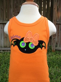 Girl Bat Halloween Shirt