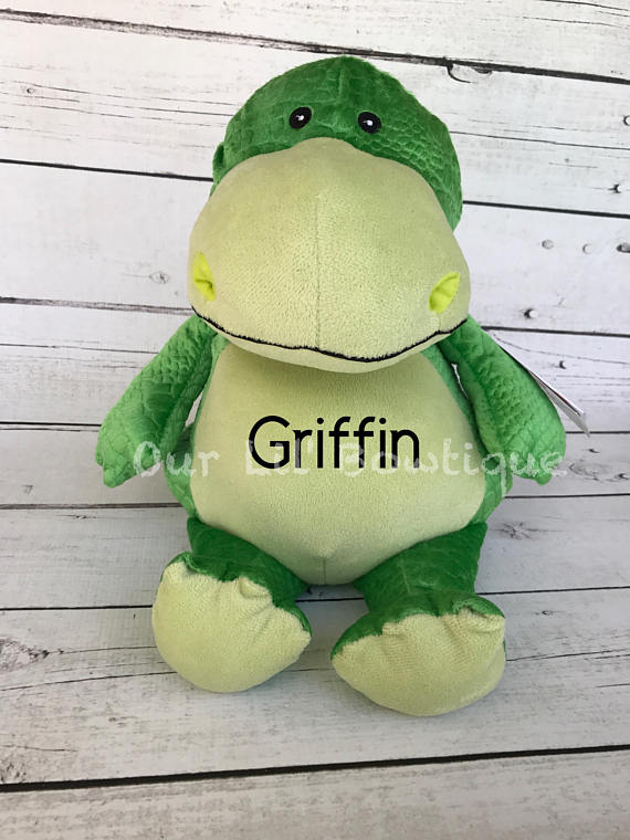 Dinosaur - Personalized Stuffed Animal - Personalized Animal - Personalized Dinosaur
