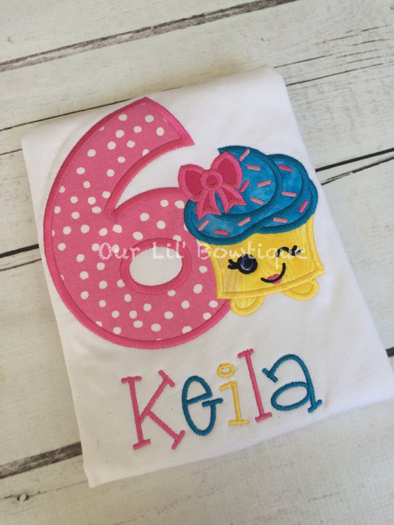 Cupcake Shirt- Personalized Birthday Shirt - Personalized Inspired - 1st Birthday Outfit - Tutu - Birthday Shirt -CupCake - Birthday