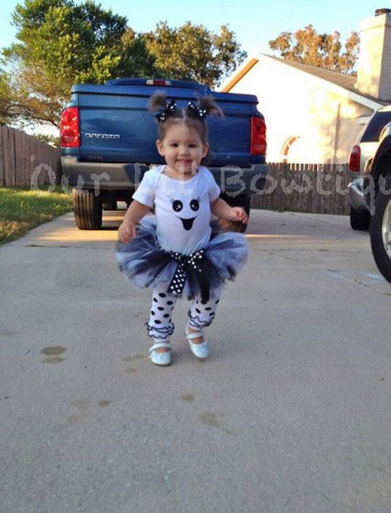Ghost Halloween Costume - Ghost Tutu - Ghost Shirt - Ghost Costume - Ghost Bodysuit - Ghost Outfit