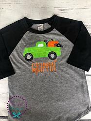 Halloween Truck Shirt