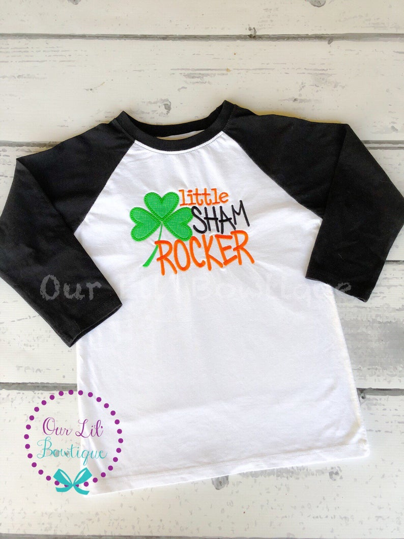 St Patricks Day Shirt - Little Sham Rocker