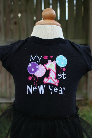 My 1st New Years Shirt - First New Years