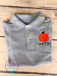 Pumpkin Polo Shirt